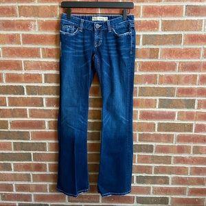 BKE Buckle Stella Stretch Jeans Sz 27 Button Flap